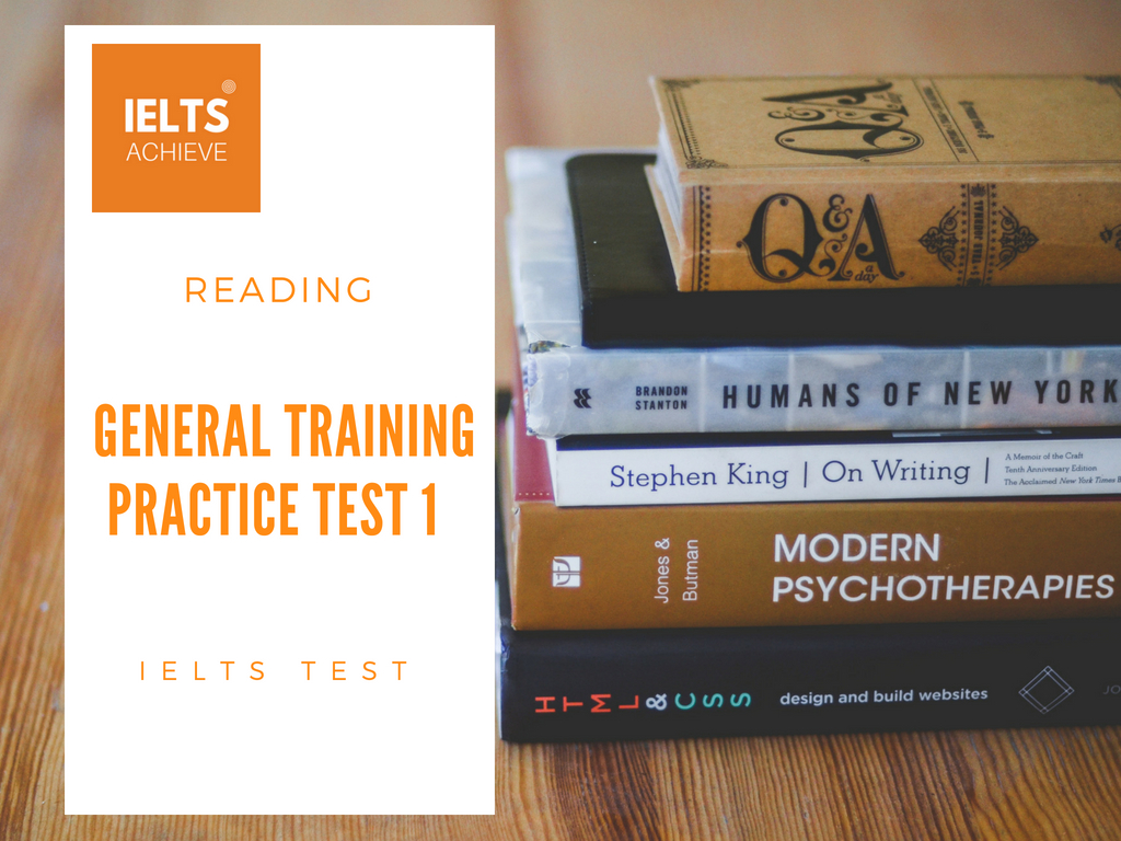 Focusing On Ielts General Training Practice Tests Pdf