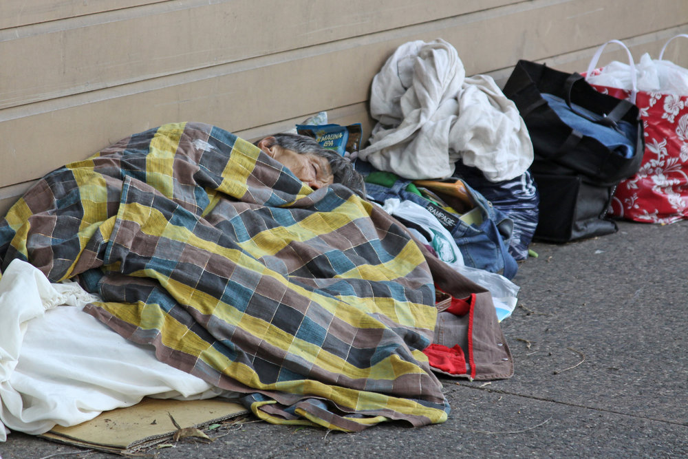 Homeless have few options as Isle population grows.
