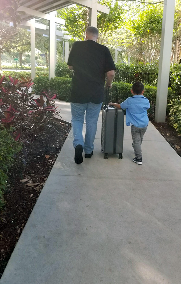 My son, Jacob and I packed up after day 4 of MegaCon Orlando