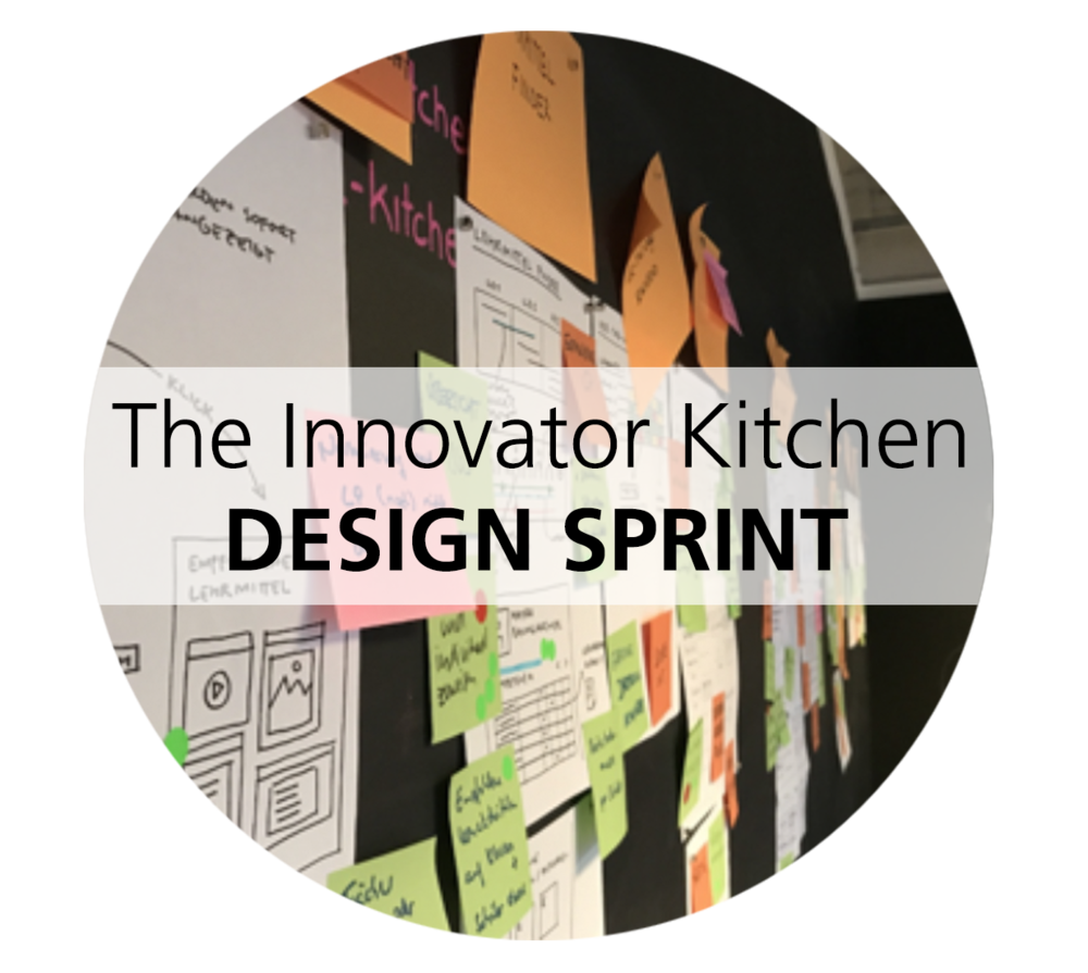 "2019-03-01  The Innovator Kitchen – design sprint   Combine open innovation, design thinking and agile business development in our Amsterdam ""Design Sprint Kitchen"" and create and validate breakthrough concepts in 1 week. •Rethink and develop business and product concepts together with experts. •Design, prototype and validate with real customer feedback.   Book  your design sprint week in March '19  Contact us  for tailored sessions, dates or locations Get more info  here"