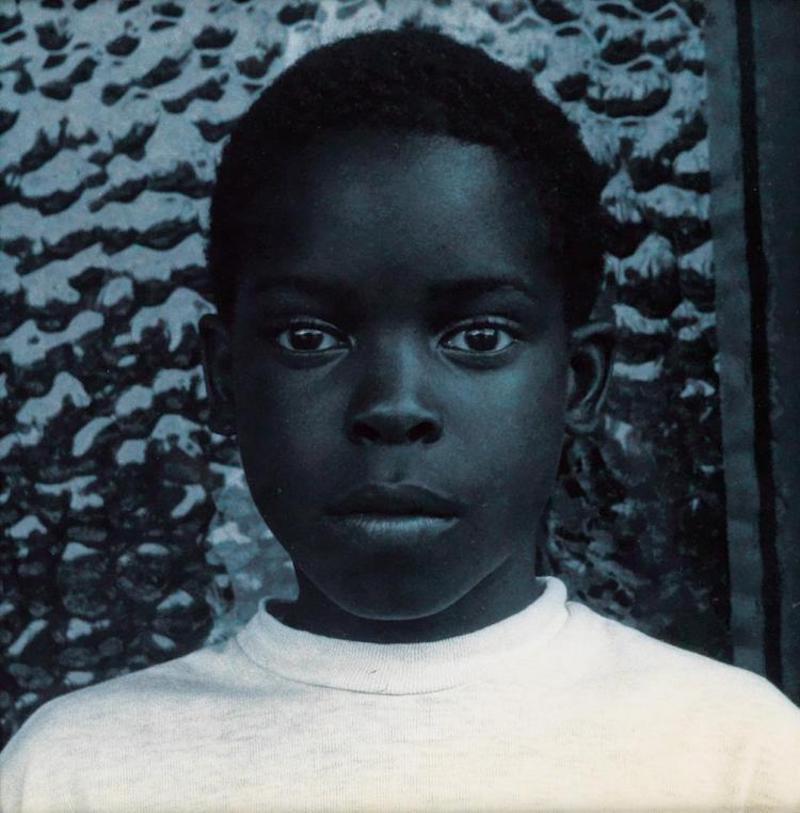 Carrie Mae Weems' 'Blue Black Boy'.