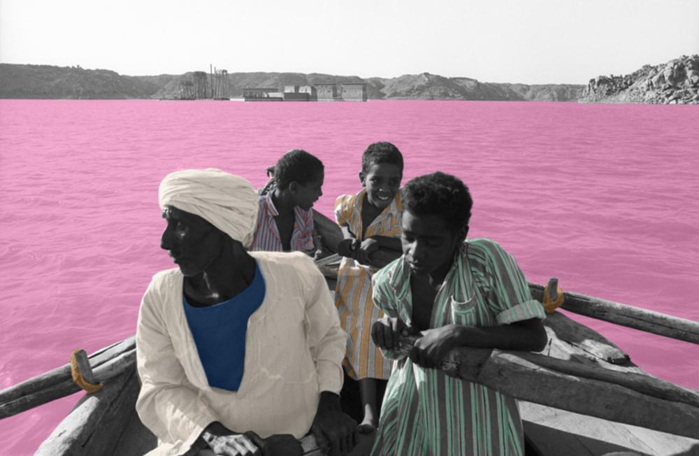 Atong Atem bringing colour to life.