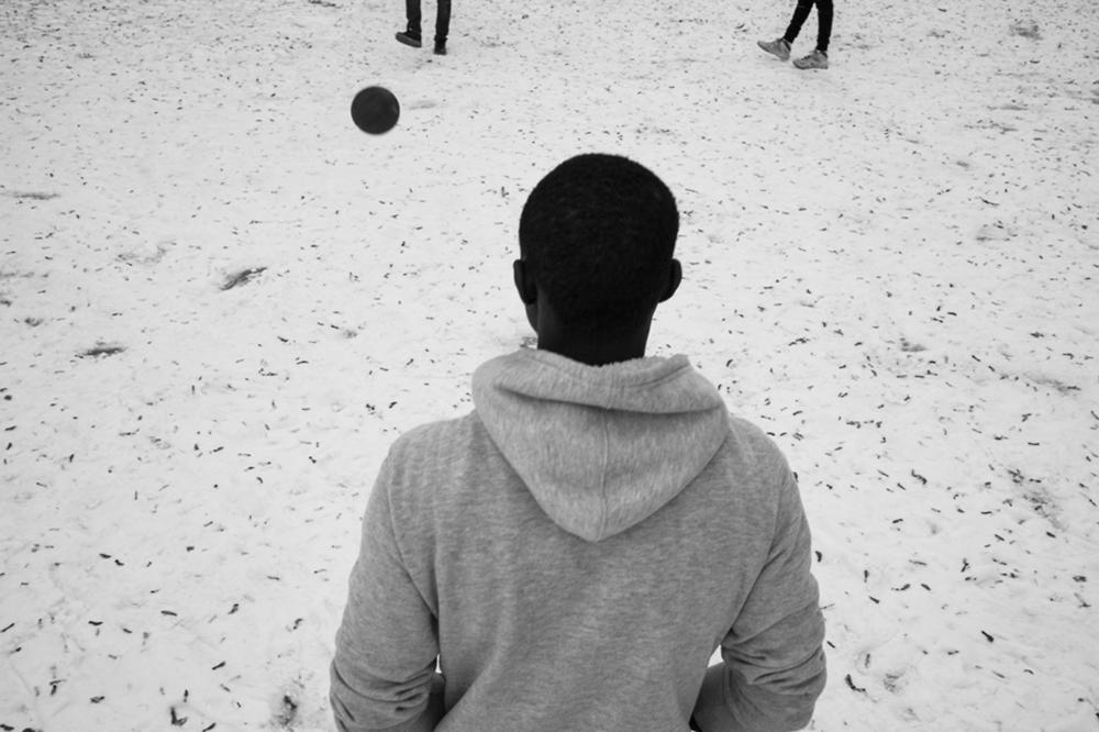 Snow game.