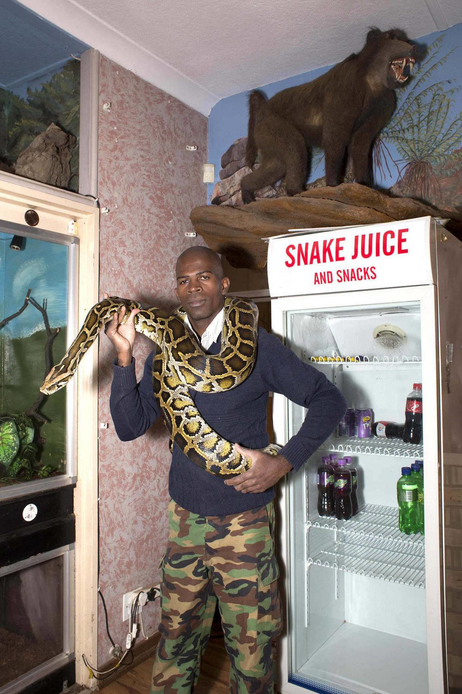 Snake juice.