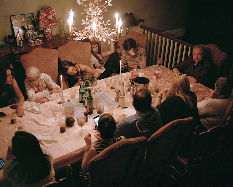 Family gathering.