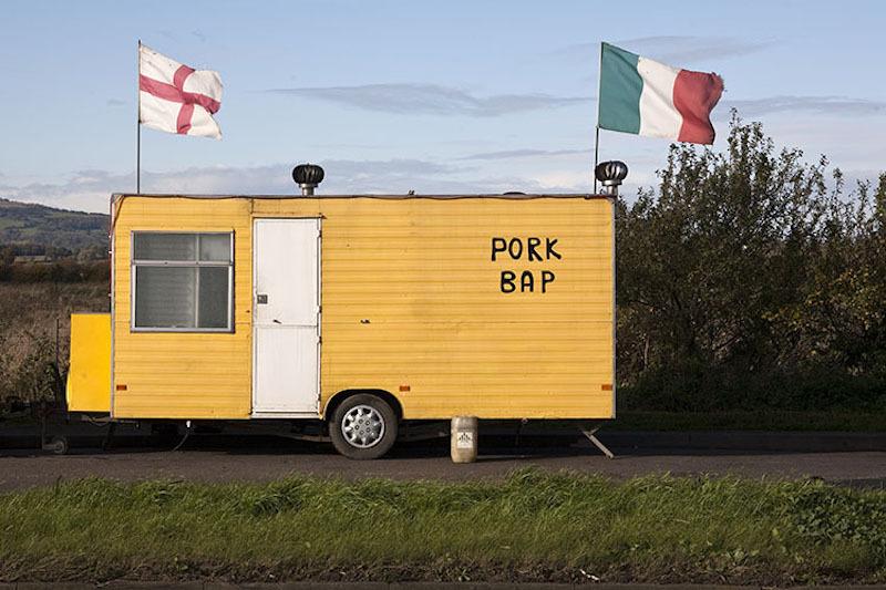 Fine British cuisine in a dramatic setting.