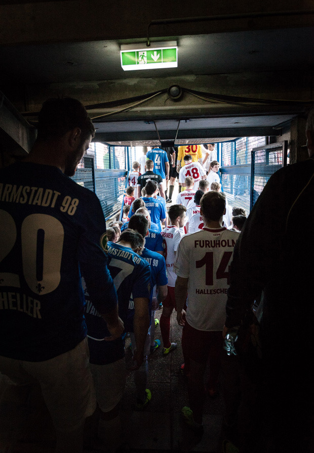 Reinaldo Coddou H photographed SV Darmstadt 98.