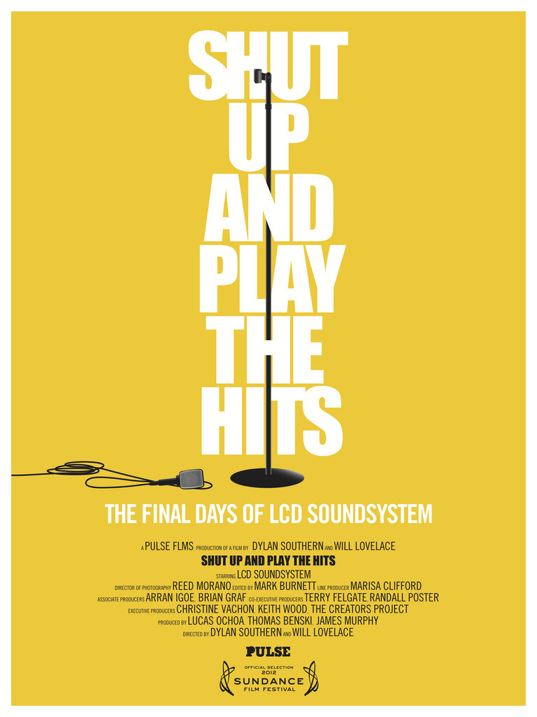 albertalexander :     FRIDAY NIGHT! just got my ticket!      A film about the last days of LCD Soundsystem.