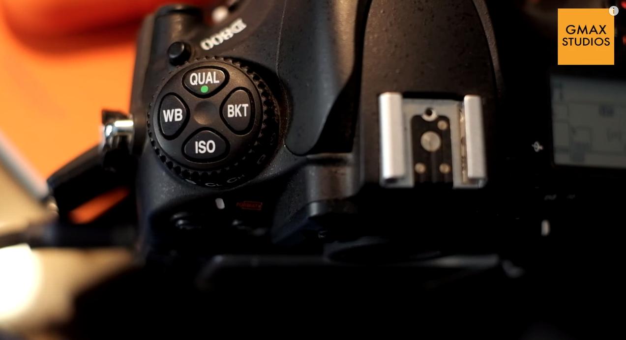 White balance Nikon camera