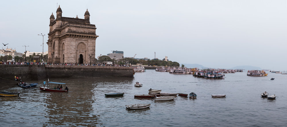 A panorama of the Gateway Of India