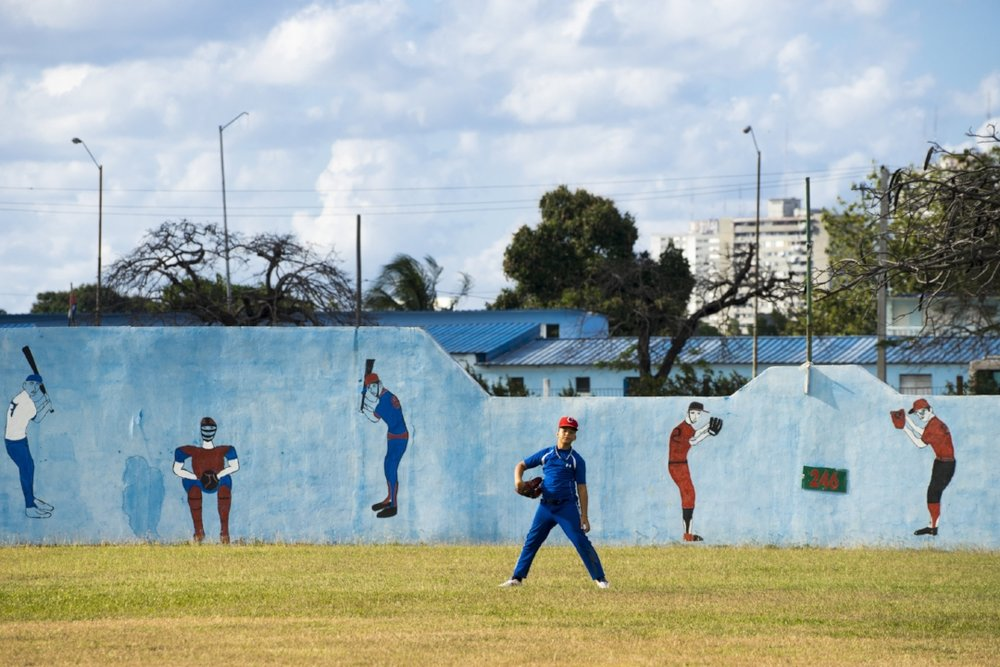 Ira Block spent three years documenting Cuba's culture in his book, 'Cuba Loves Baseball'. Photograph by  ©  Ira Block