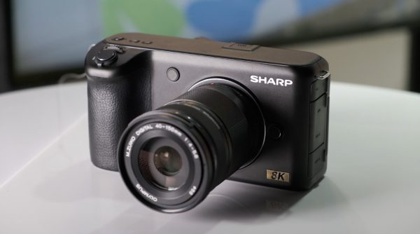 Sharp  8K  Pocket Camera
