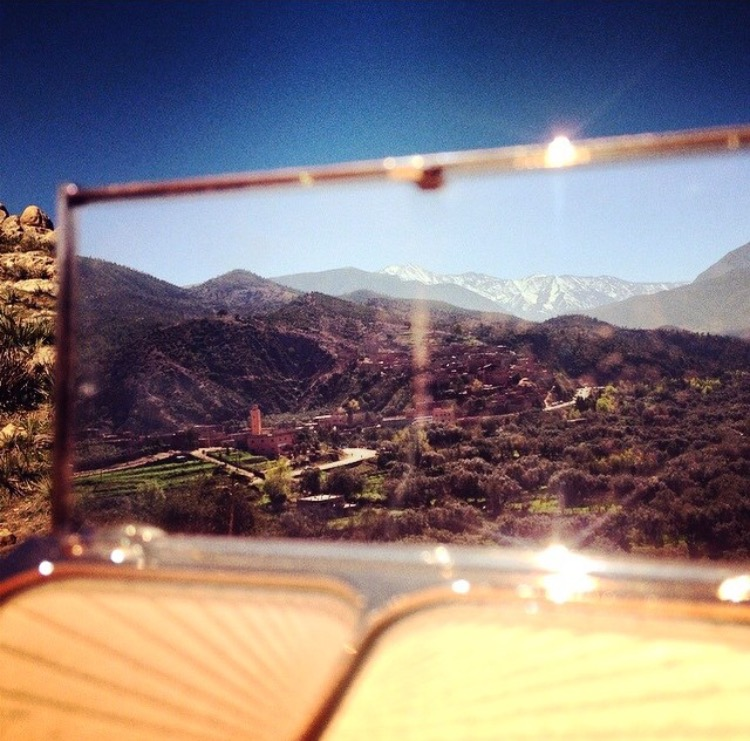 MY TRAVELS WITH FILMSTAR BRONZE & GLOW -ATLAS MOUNTAINS MARRAKECH