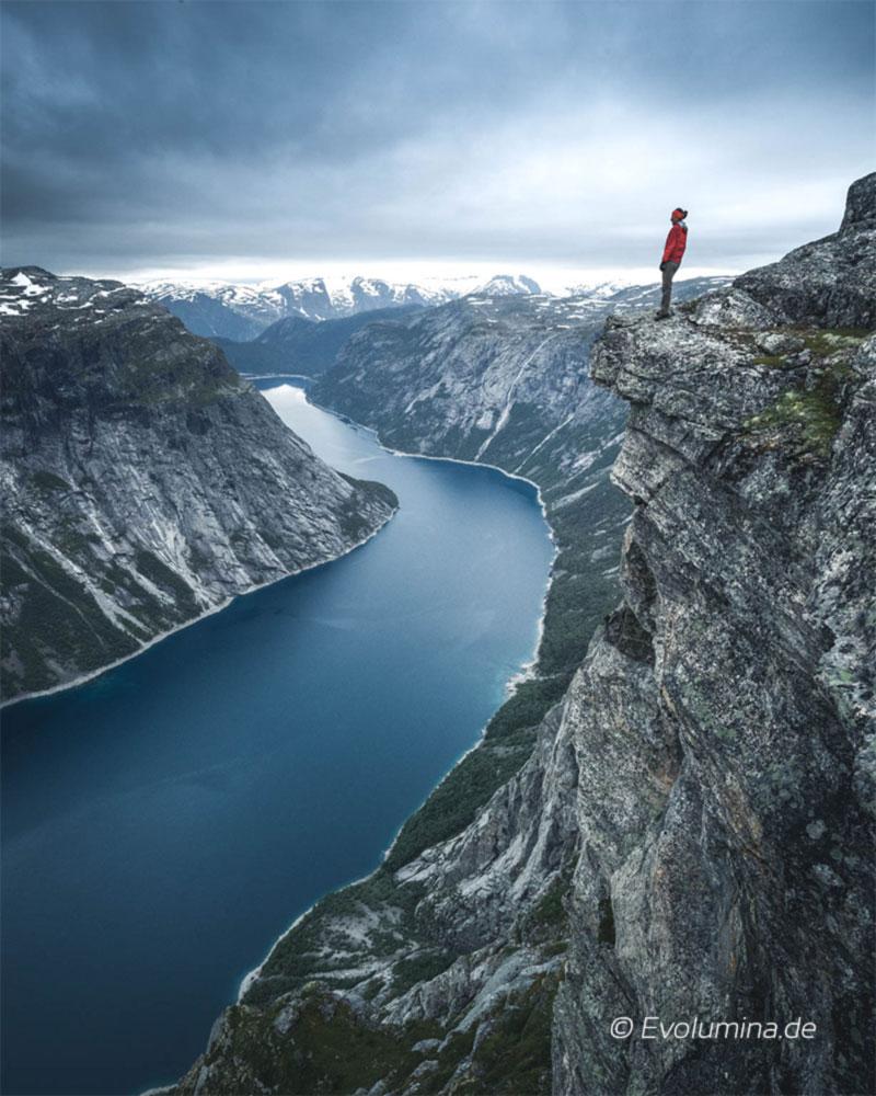 Effizientes Erreichen eigener Ziele - 2 Tages-Wanderung auf Trolltunga, Norwegen ( ©Evolumina.de )