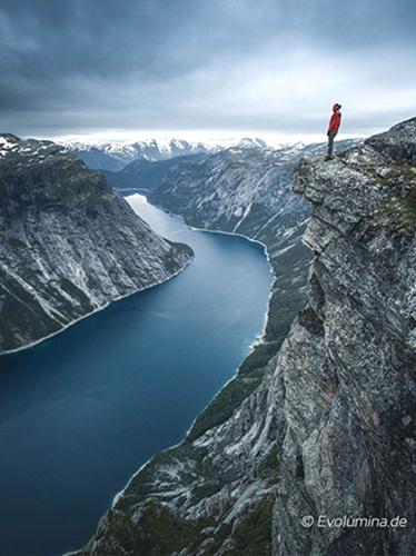 Effizientes Erreichen eigener Ziele   2-Tages-Wanderung mit Zelt und Gepäck zur Trolltunga, Norwegen