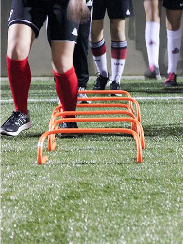 Athletischen Fähigkeiten des Sportlers verbessern   Bewegungskoordination und Sensomotorik