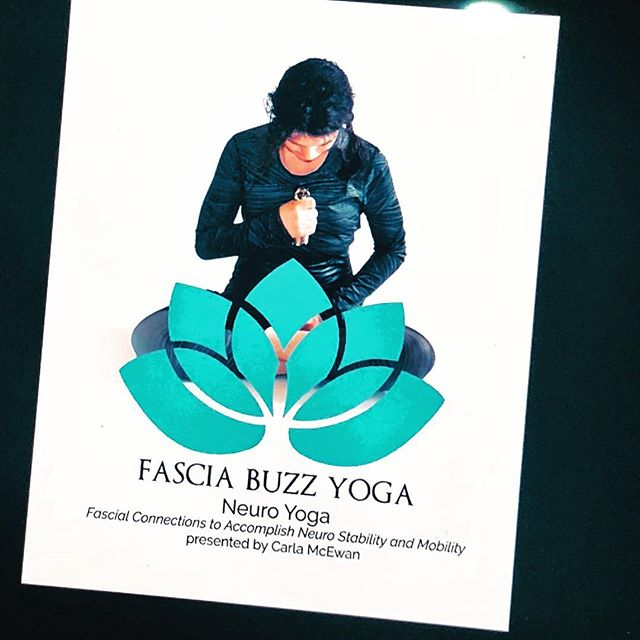 Yoga shouldn't be hard.  Fascia Buzz helps the brain-muscle communication through fascial lines.  That sounds complex and it is- but application is as simple as pushing a button.  Coming soon Fascia Buzz Yoga bundles. Over 100 poses with Fascia Buzz placement demonstrated by Fascia expert Carla McEwan. 🧘‍♀️ #ommmmmm