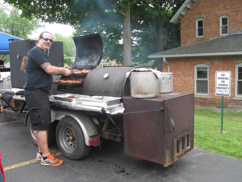 Pulled Pork Smoker Drive Thru