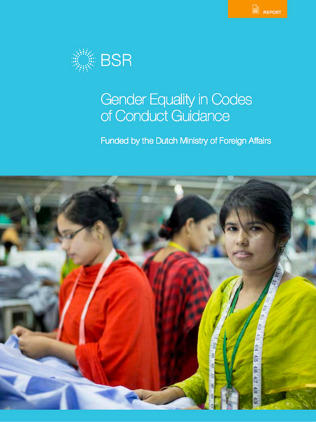 Gender Equality in Codes of Conduct
