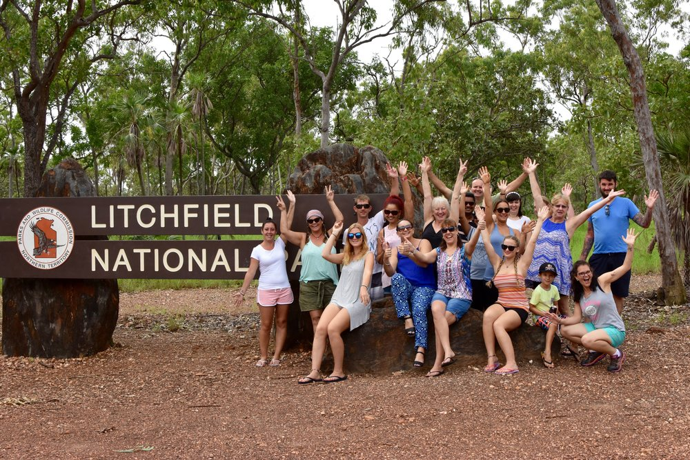 Litchfield National Park's inaugural tour.