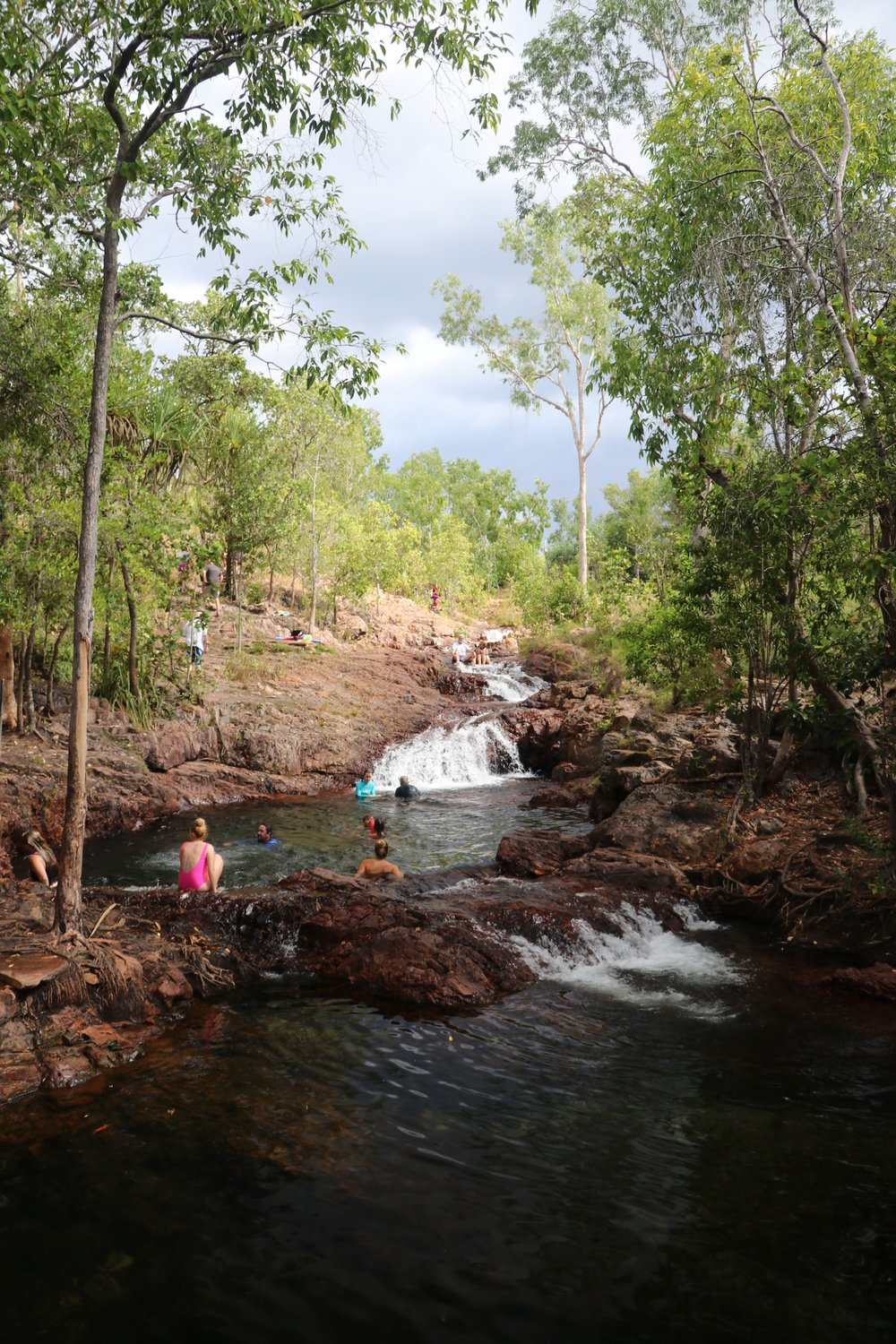 The deep plunge holes in Buley Rock Hole, Litchfield National Park