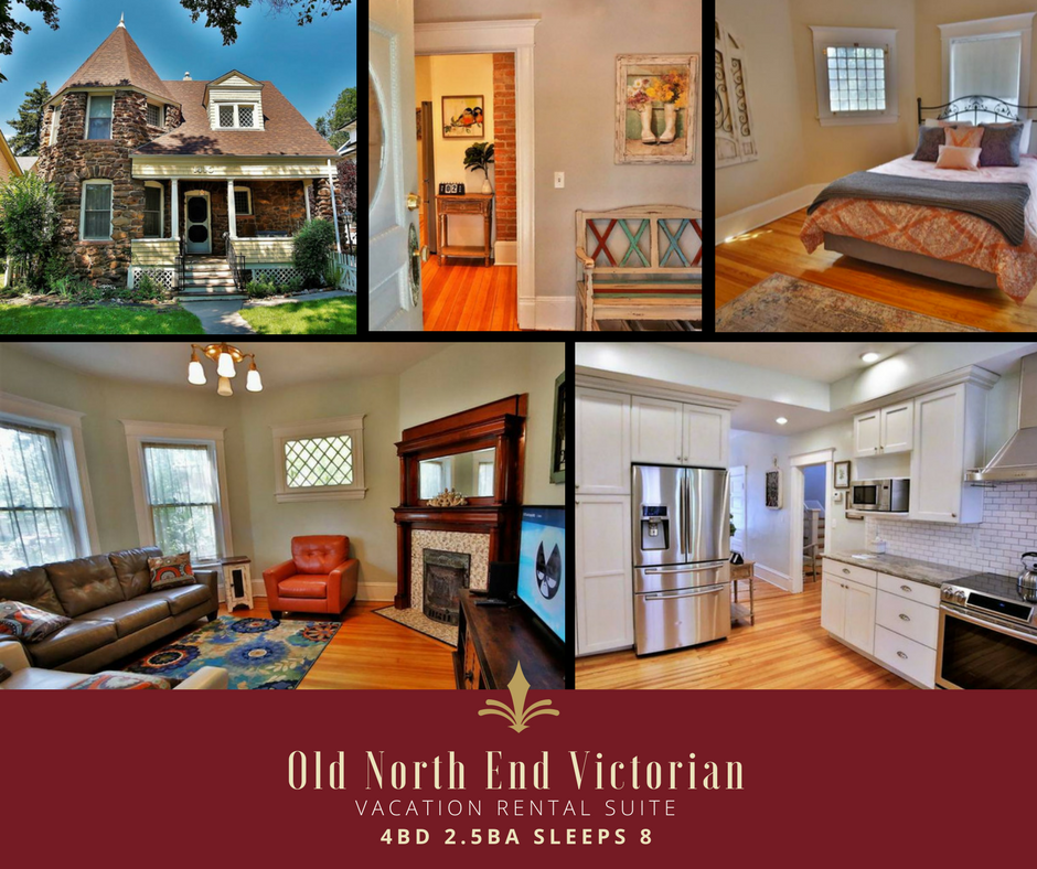 4BD 2.5 BA SLEEPS 8 - OLD NORTH END VICTORIAN