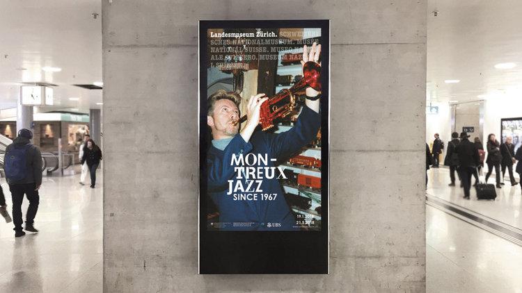 Ausstellung Montreux. Jazz seit 1967
