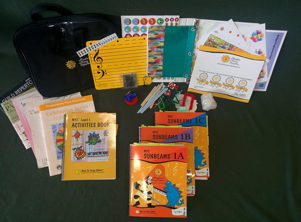 Sample of 9 months of Sunbeams class materials!