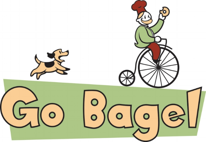 Logo, Go Bagel restaurant in Chattanooga, TN