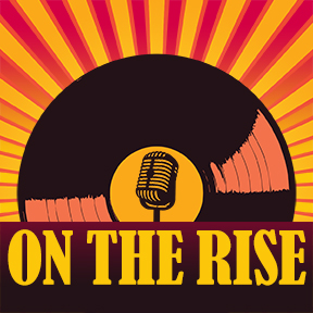 Podcast logo,  On The Rise
