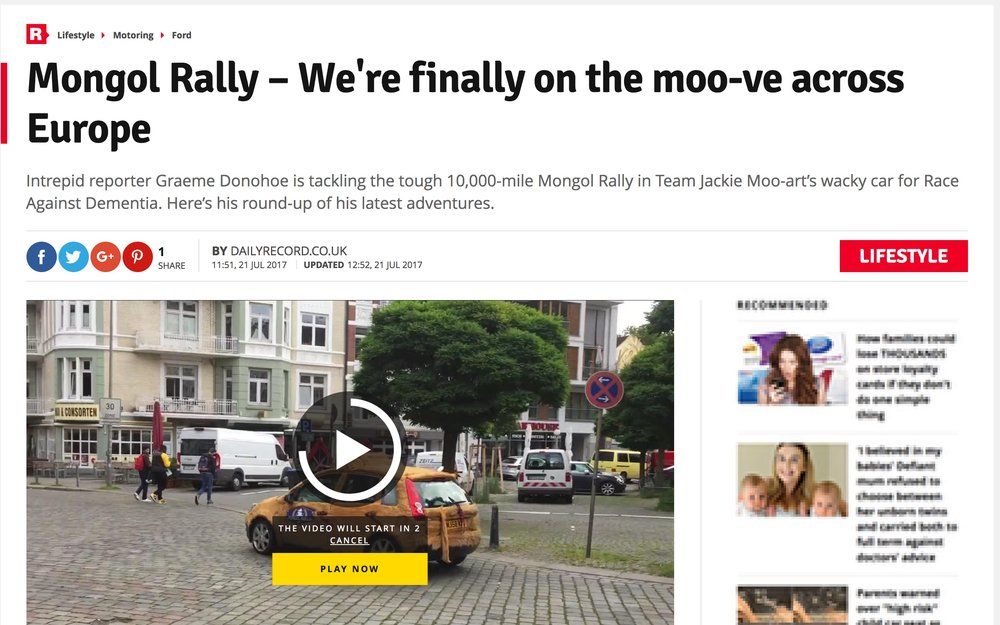 We're finally on the moo-ve! -