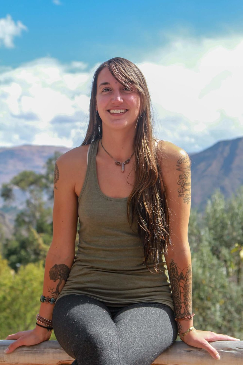 Founder - Ashley Seymour is the founder Soul Wave Yoga & Practices. Shortly after Ashley began her personal practice, she knew she wanted to share and hold space for others to unfold in their own personal transformation. Ashley has trained with Frog Lotus Yoga and School Yoga Institute to receive her 500 hour teacher training certification. This path has also led her to become a Reiki level 2 practitioner, trauma sensitive trained instructor and to create a Youtube Yoga Channel. Ashley's teachings focus on intuitive and energetic practices, based on the needs of the class or individual. After a trip to Peru for her 300 hour training, she deepened her relationship to energetic healing and shamanism and incorporates these techniques/experiences not only in her reiki/energetic sessions but weaves these lessons into her classes and workshops. Ashley continues to travel to Peru to teach yoga teacher training's and to deepen her experience with shamanism & energy work.Ashley' teaches Yoga Teacher Trainings with School Yoga Institute and continues to share yoga classes, workshops and ceremonies. Ashley emphasizes the importance of becoming aware of one's emotional, mental, and energetic state when moving deeper into any practice so that there is presence for releasing any blockages, patterns of the mind, emotions, or limitation that are no longer in service of one's highest good. The body holds imprints from our past and through the physical practice one begins to unravel these tensions and release even deeper when focused, present, and connected with the rhythms of the breath. Sharing ceremony, yoga, meditation, workshops, and space with others is Ashley's great honor and she does so with immense gratitude for the divine and beautiful souls that create the platform for her to live out her life's purpose. Ashley share's her heart and hopes her offering's spark a light in others, so that they may continue on their path of uncovering their Divine connection to Source.