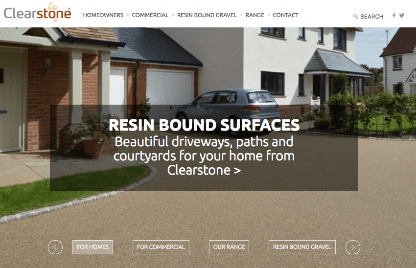 Digital Marketing strategy for Clearstone Paving