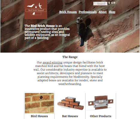 Digital marketing strategy for Bird Brick Houses - Creative Bloom