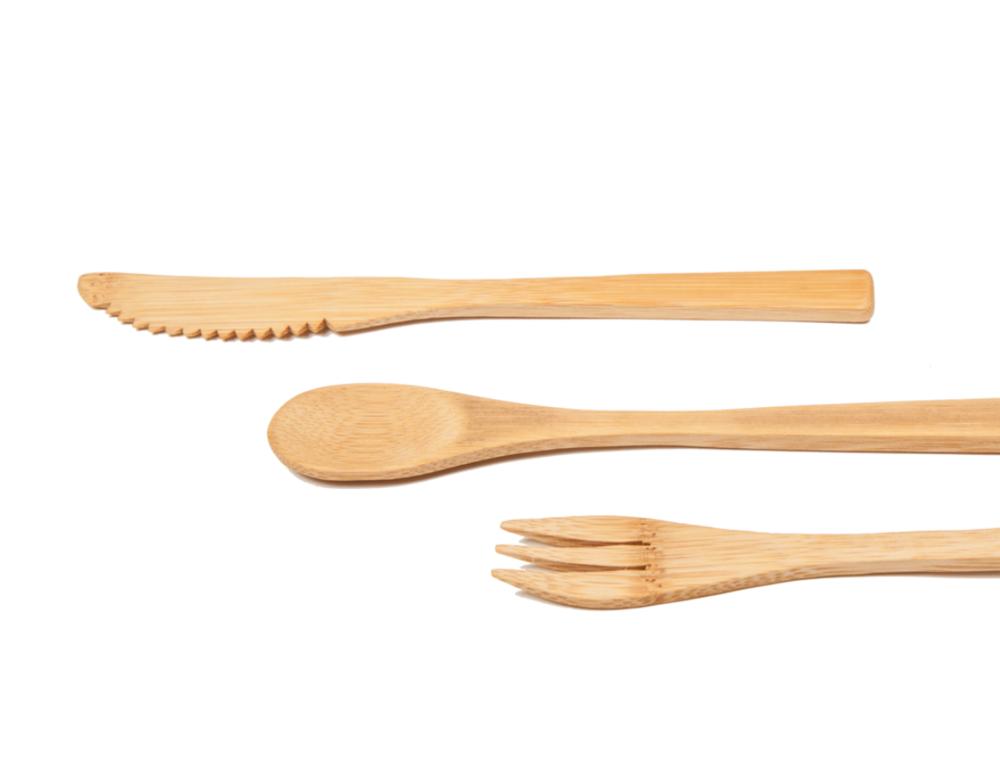 Reusable Wooden Cutlery £5