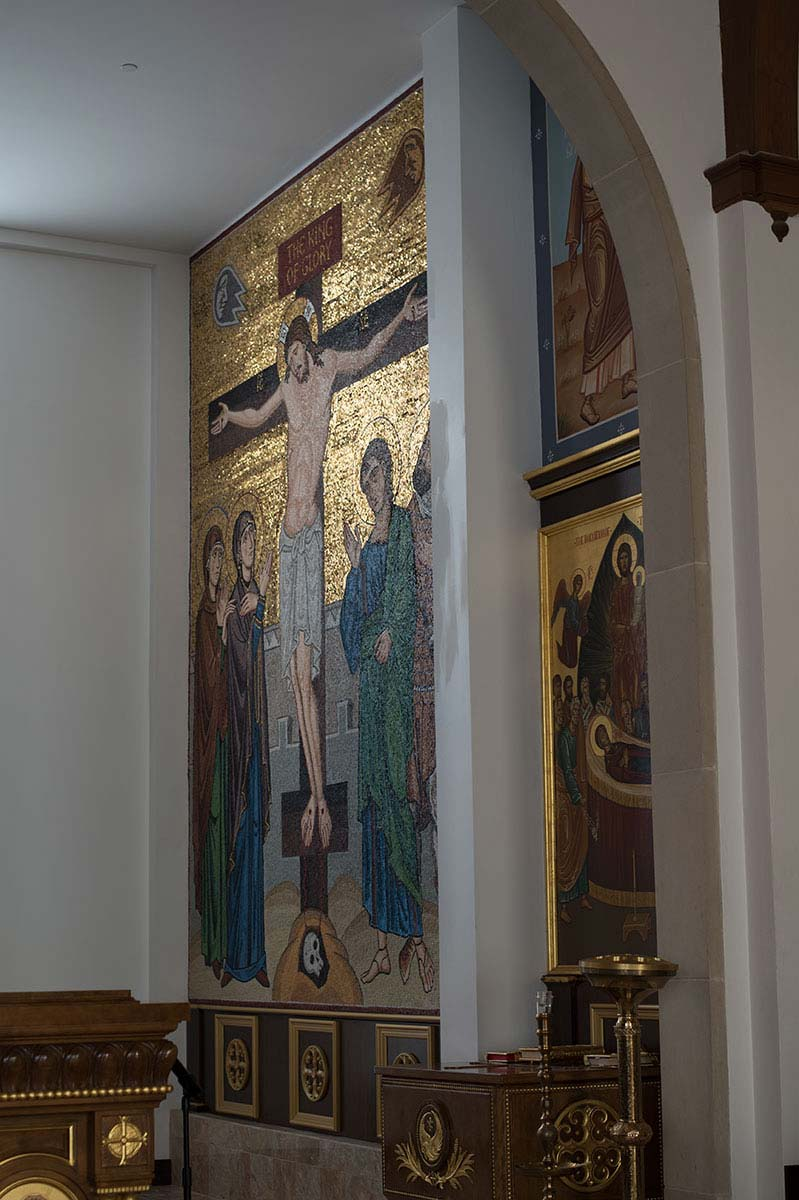 The Crucifixion, St George's Orthodox Church, Houston, Texas