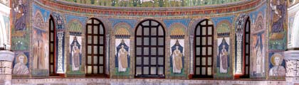 The lower tier with bishops of Ravenna