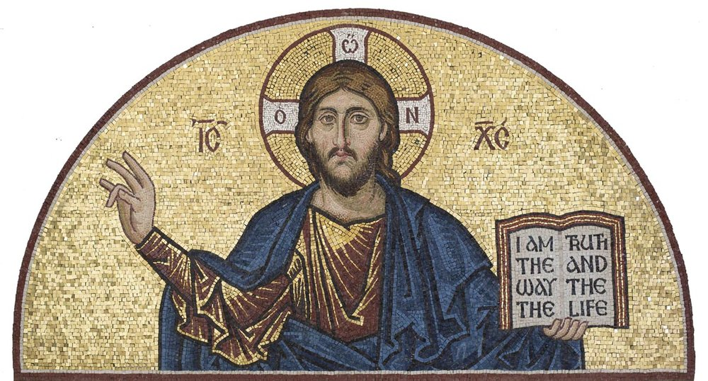 Christ Pantocrator Mosaic, St George's, Houston, Texas
