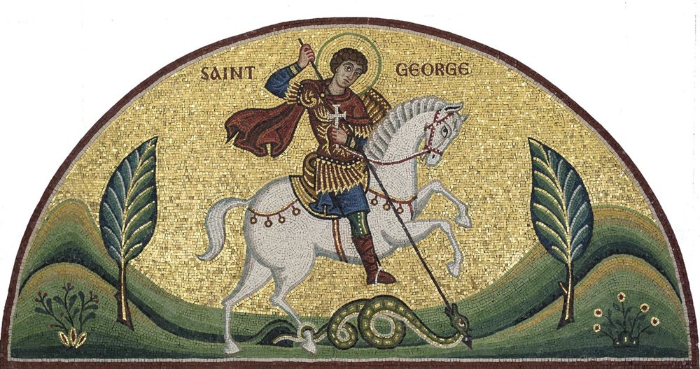 Saint George Mosaic, St George's, Houston, Texas