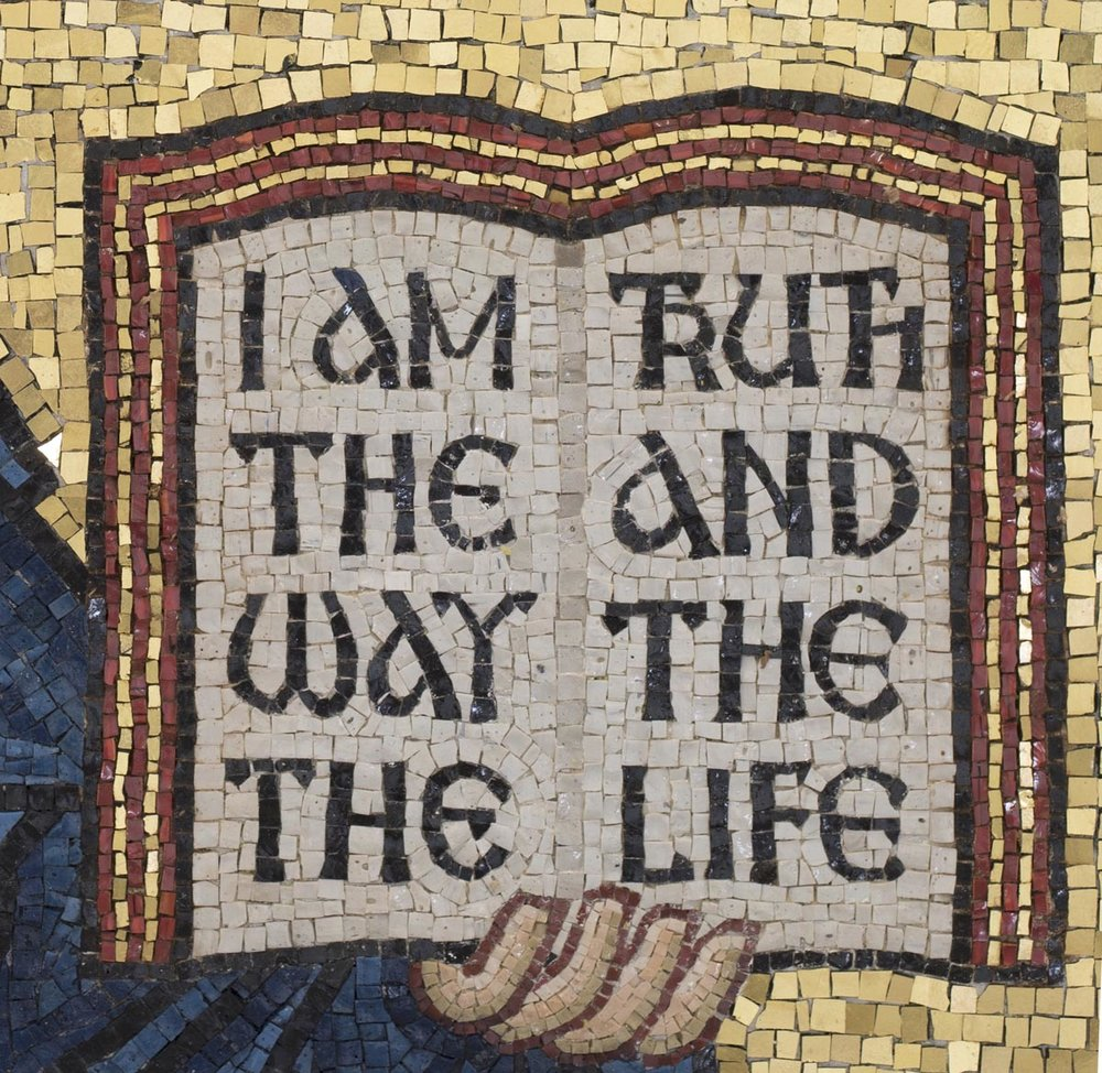 The Word, Christ Pantocrator Mosaic, St George's, Houston, Texas