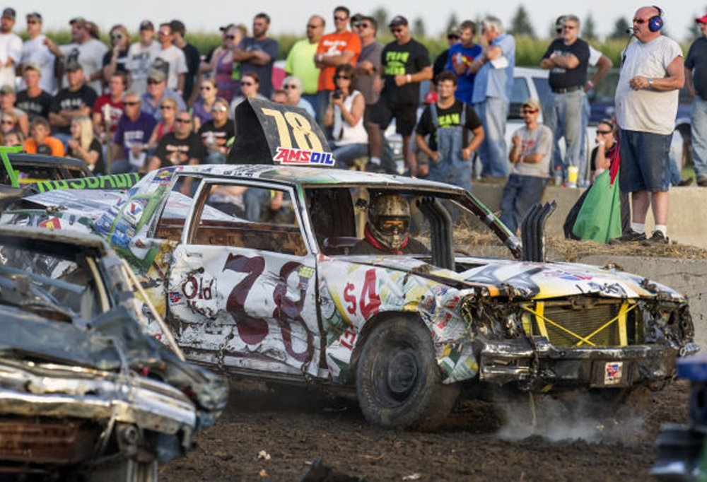 Summer's Last Bash Demolition Derby -