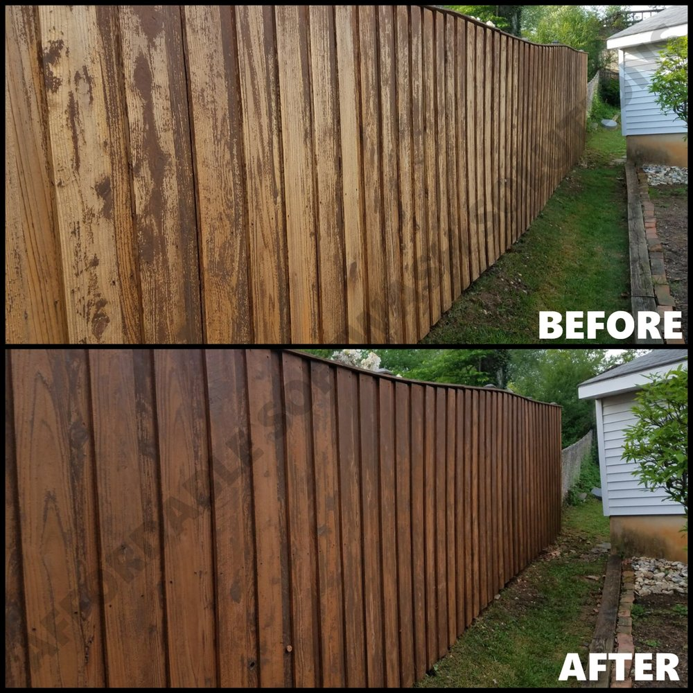 Professional Fence Cleaning in the Marylan   Virginia Area