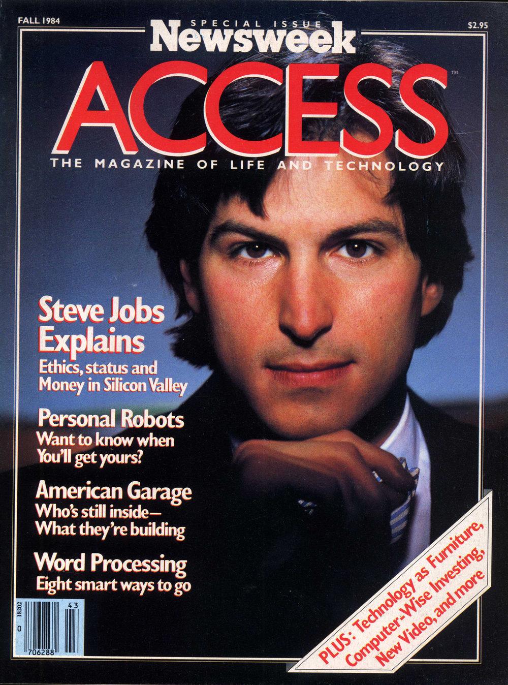 Steve Jobs, Newsweek