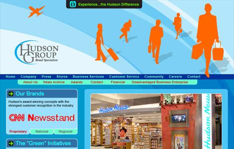 HUDSON GROUP WEBSITE