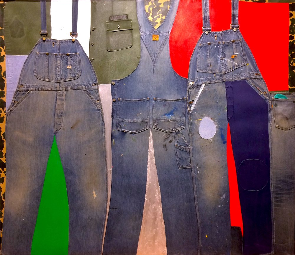 Vets , 1967–73, mixed media assemblage, 62 x 72""