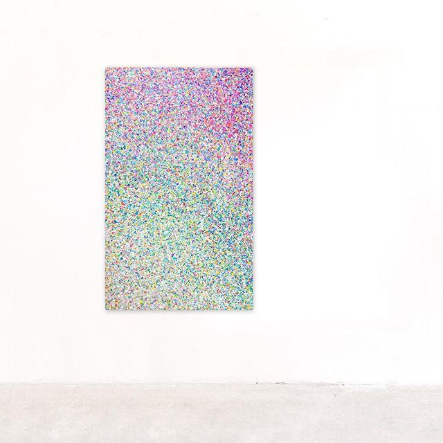 #painting canvas 90x150cm 〰️ available on artsy.net/artist/cija 〰️ www.cija.art/shop 💛 #art #abstractpainting