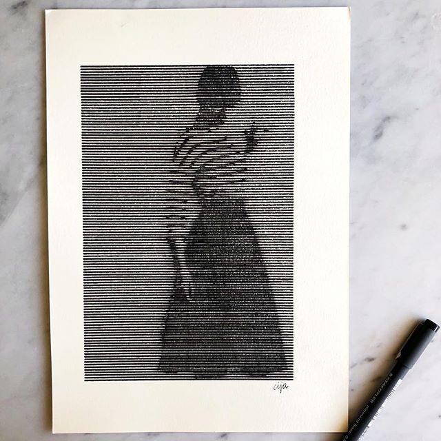 Desenho em nanquim 👌 #drawing #nankin #available