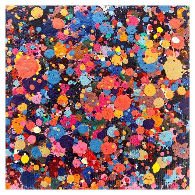 Mix de cores 🔎 #detail #art #abtractart