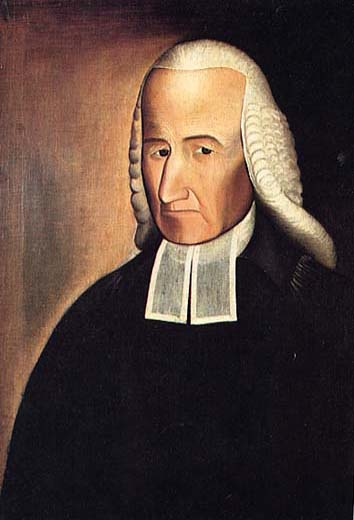 Abraham G. D. Tuthill,  Reverend Samuel Buell , 1798, oil on canvas, Brooklyn Historical Society, New York.