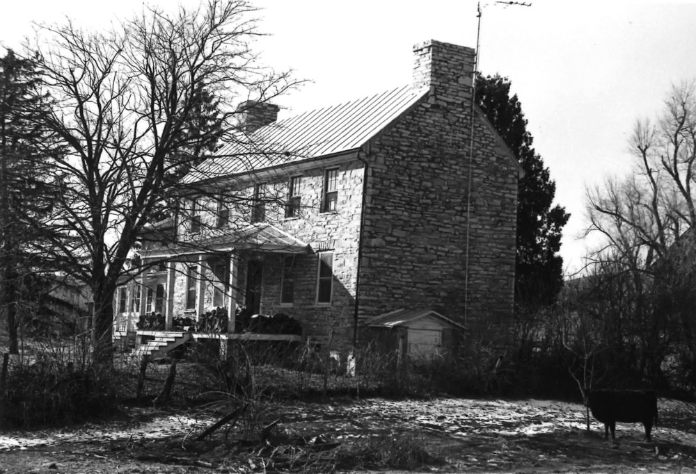Clover Mount (Robert Tate Homestead), Greenville, Virginia, ca. 1803. Image courtesy of the Virginia Department of Historical Resources, Richmond.
